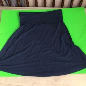 Knee length maxi skirt